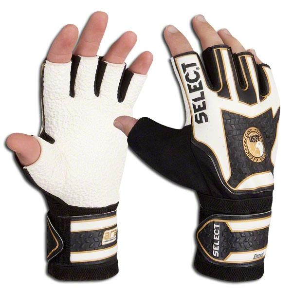 9f22ee454a71 Select Futsal Goalkeeper Glove Fingerless design ensures a natural feel on  the ball and accurate ball handling. This Select Futsal glove has a rough  profile ...