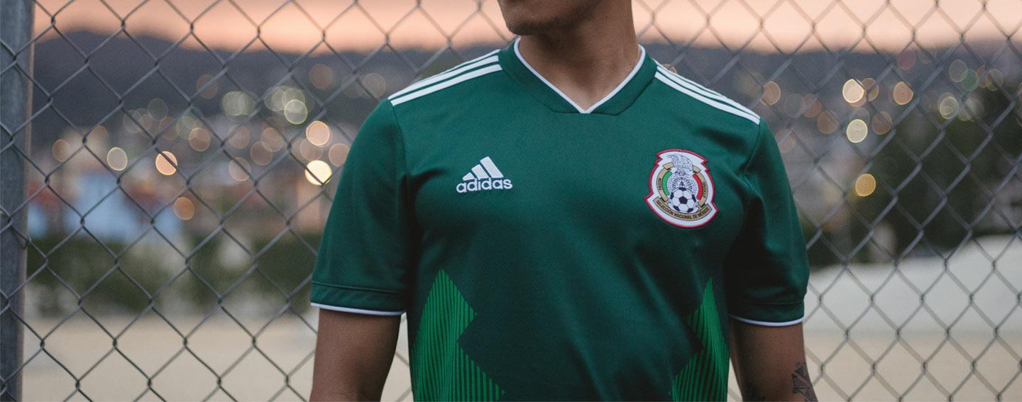 2018 adidas Mexico home jersey