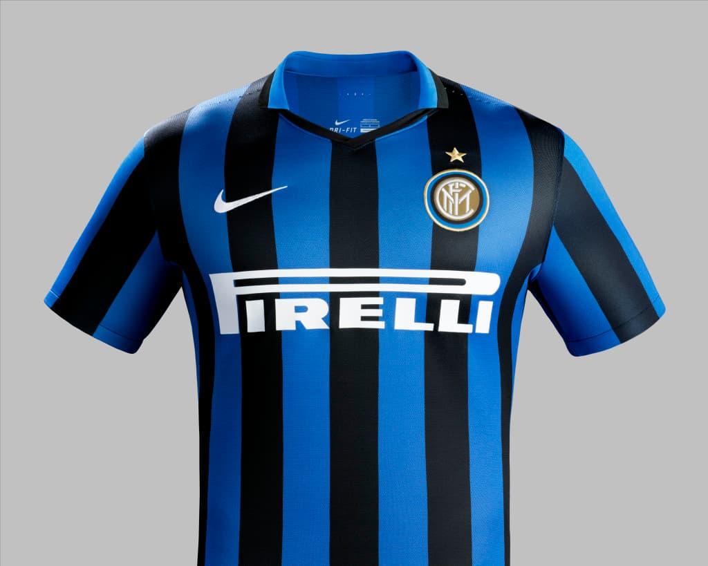online store d5479 a2f22 Nike Reveals Inter Milan 2015-2016 Home Shirt