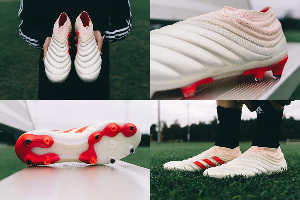 adidas laceless Copa 19+ soccer cleats