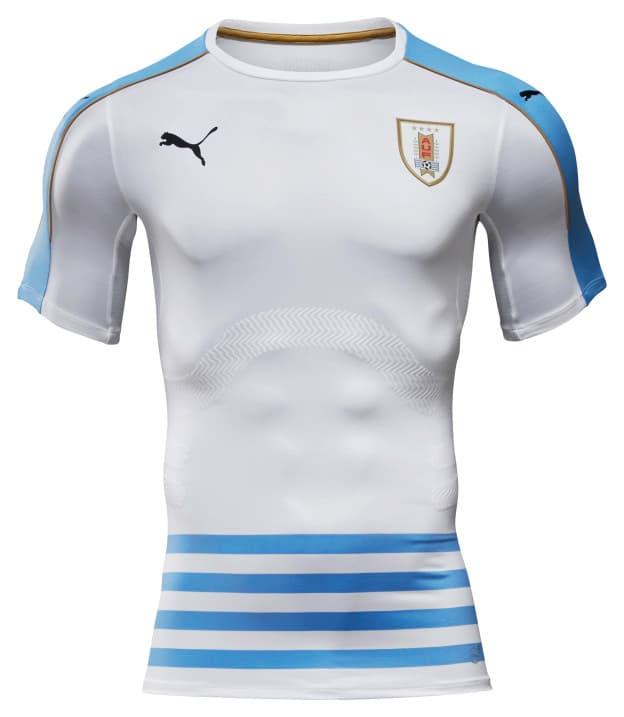 a721e411d7b PUMA Presents Uruguay 2016 Home and Away Jerseys