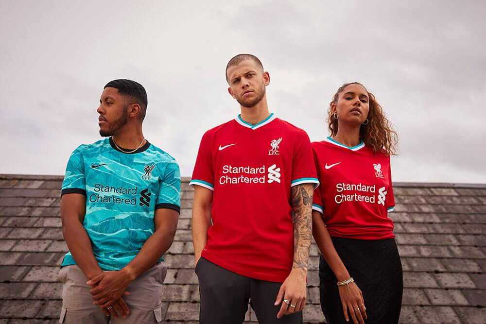 20-21 Nike Liverpool Home and Away Jerseys
