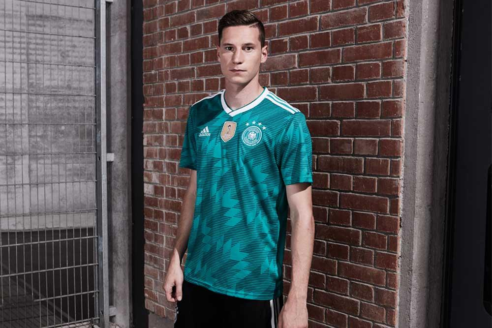 2018 adidas Germany away World Cup jerseys
