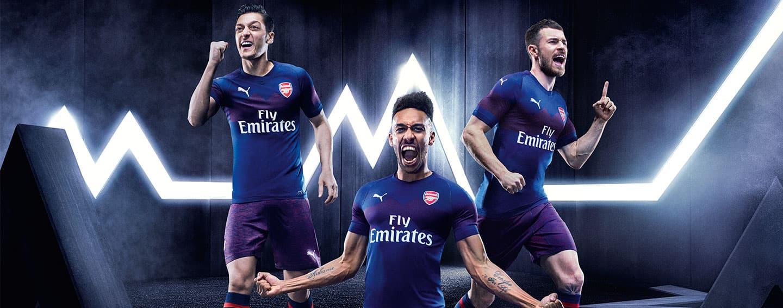 84b54f10 2018-19 PUMA Arsenal Away Jerseys released. end portlet menu bar. Soccer.  Guide. Arsenal