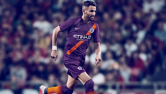 49e02523cc 2018-19 Nike Manchester City Third kit ready to take on Europe