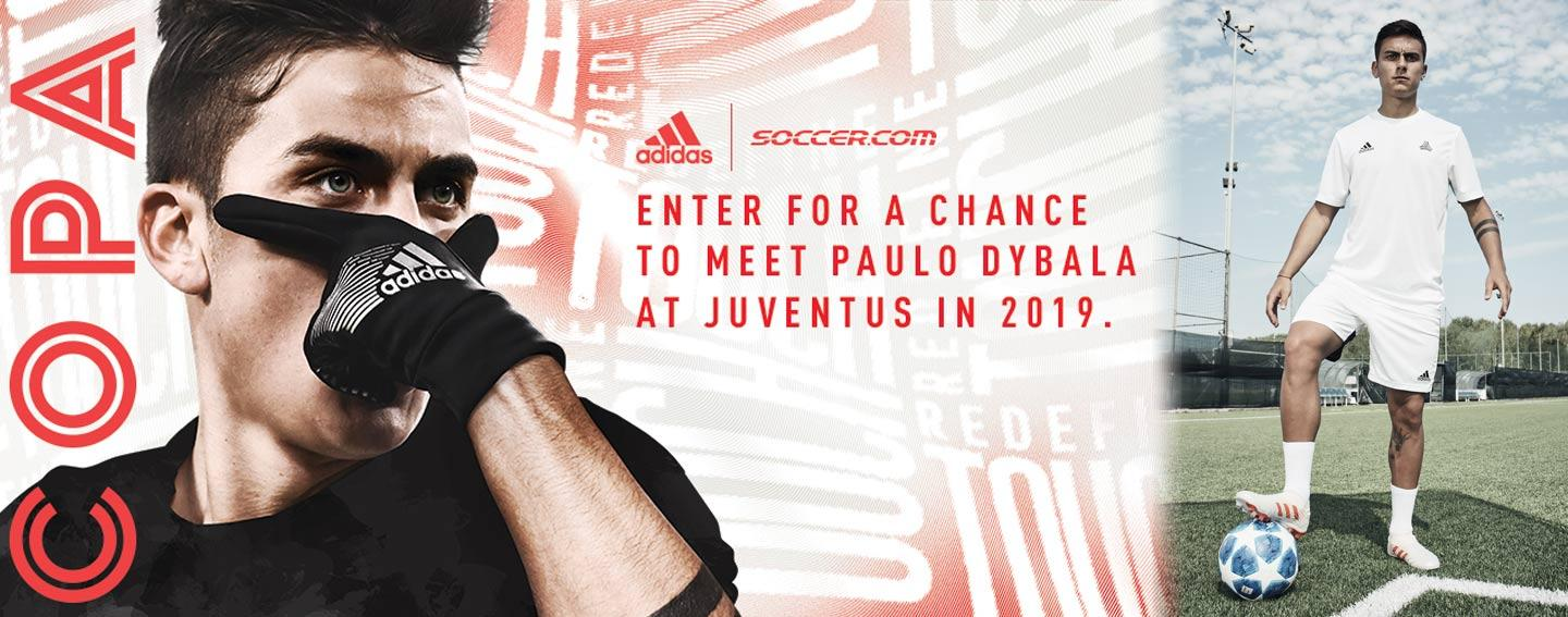 2397017521b Win a trip to Juventus to meet adidas star Paulo Dybala