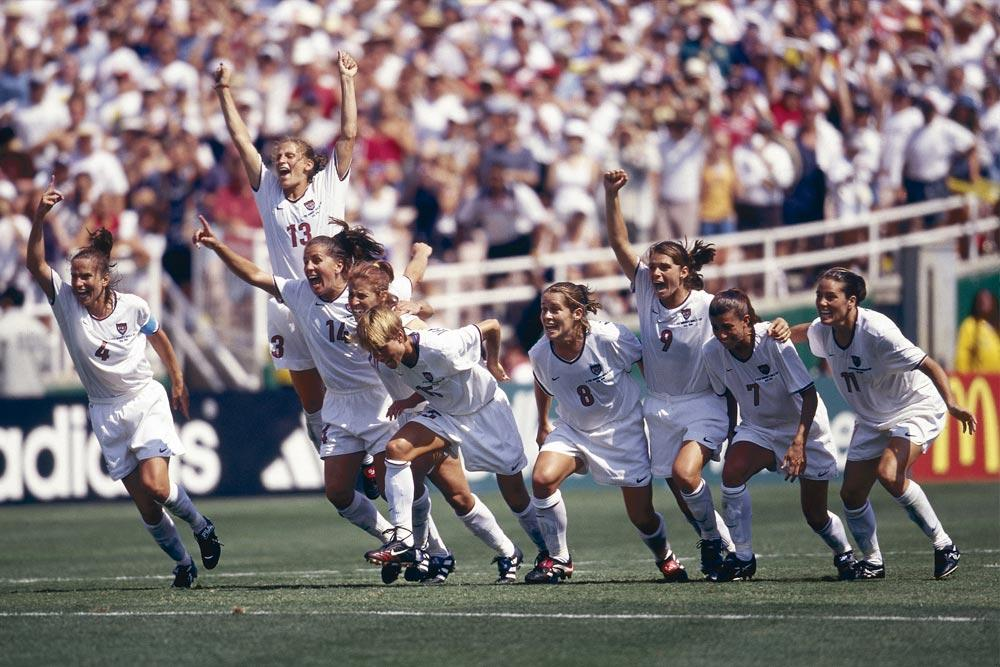 1999 FIFA Women's World Cup United States™ winners