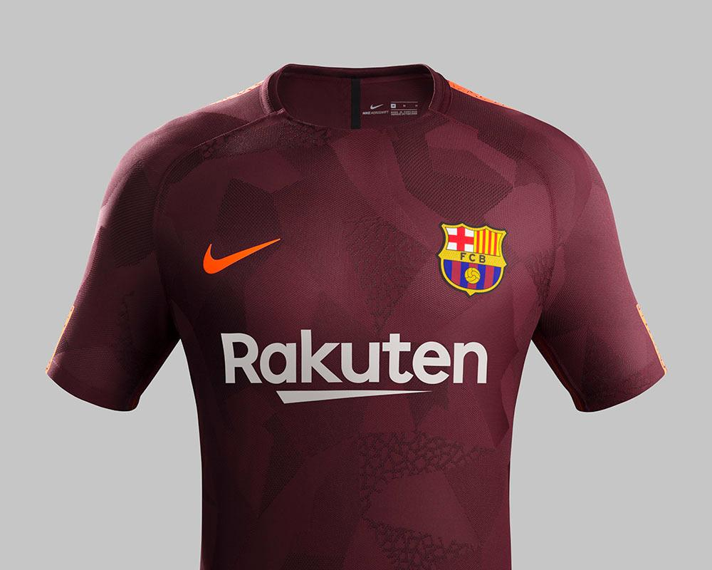 Nike Barcelona Third Jersey 17/18