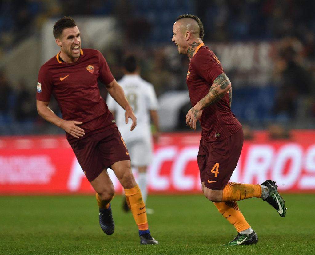 Enter to win Kevin Strootman s signed AS Roma jersey