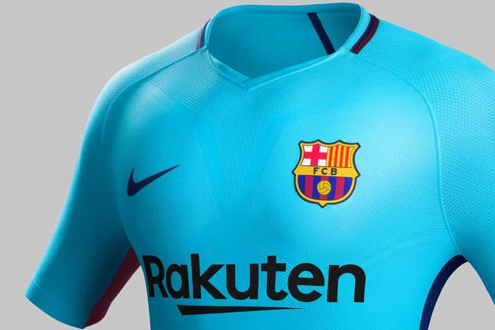 2017 18 Nike Fc Barcelona Away Jersey Revealed