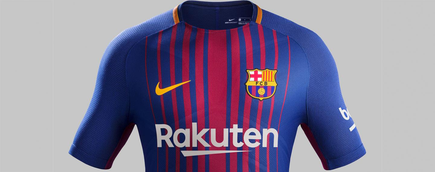 2017-18 Nike FC Barcelona home jersey launches for retail 0e98c1f75c435