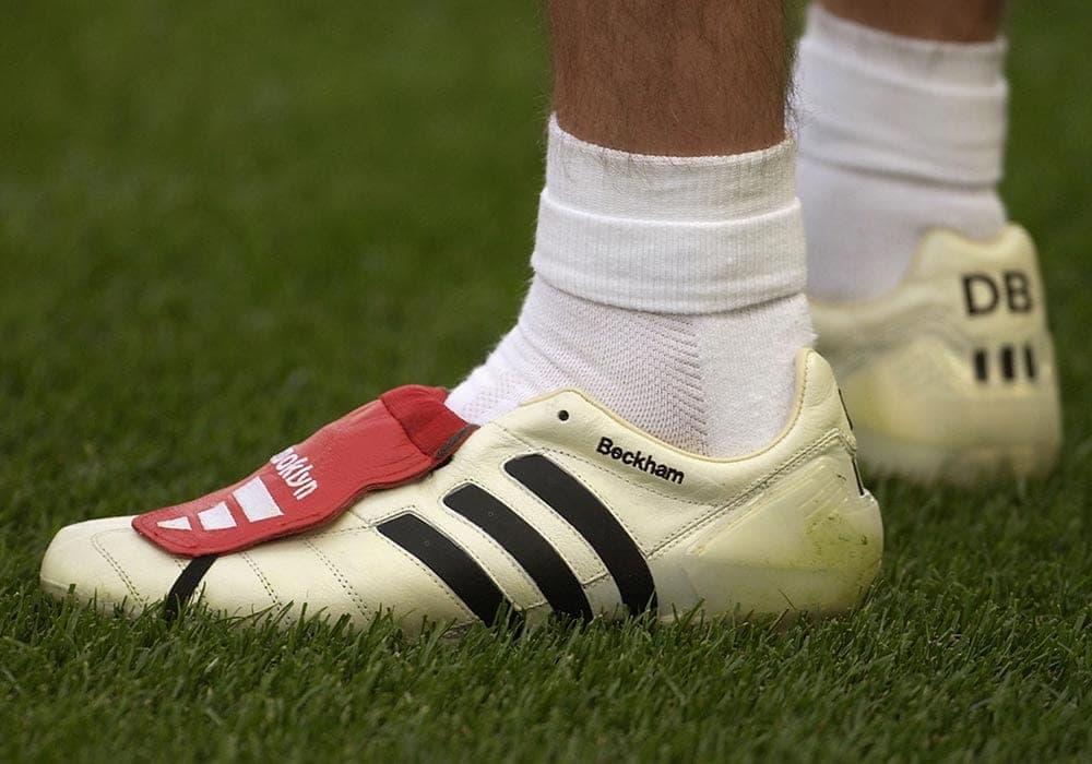 Soccer Com Guide To David Beckham S Adidas Predator Soccer Cleat History
