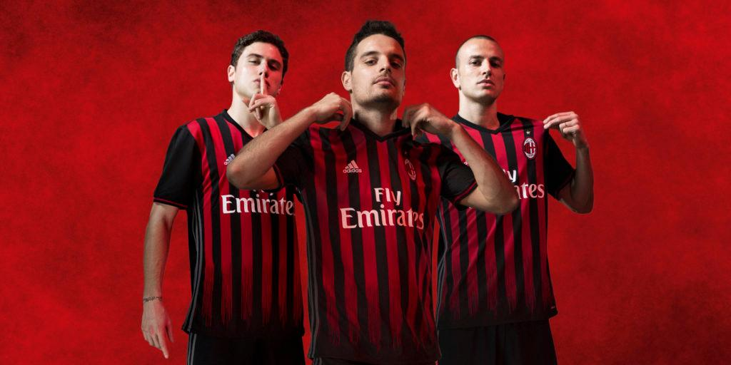 10e5daca911c5 AC Milan Reveal 2016/17 Home Jersey