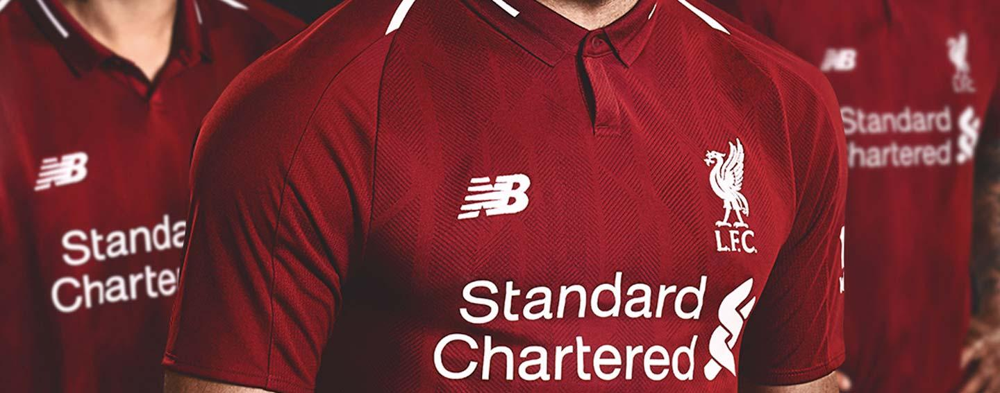f69ebd6fc 2018-19 New Balance Liverpool kits debut and they re red hot