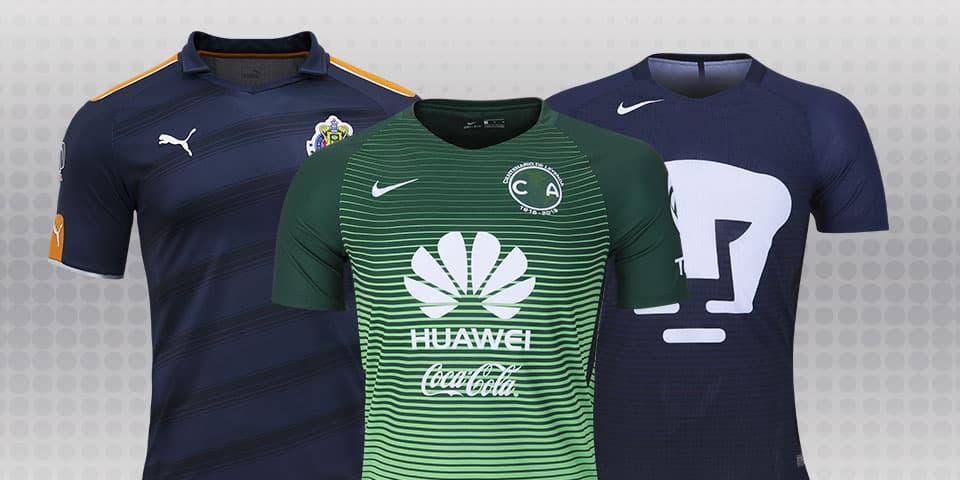 fd8cdff0 New Liga MX third jerseys highlight 2017 Clausura