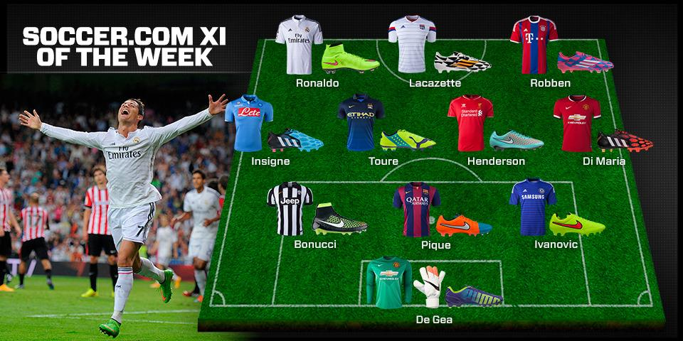 09f235aa30a7 SOCCER.COM's XI of the Week