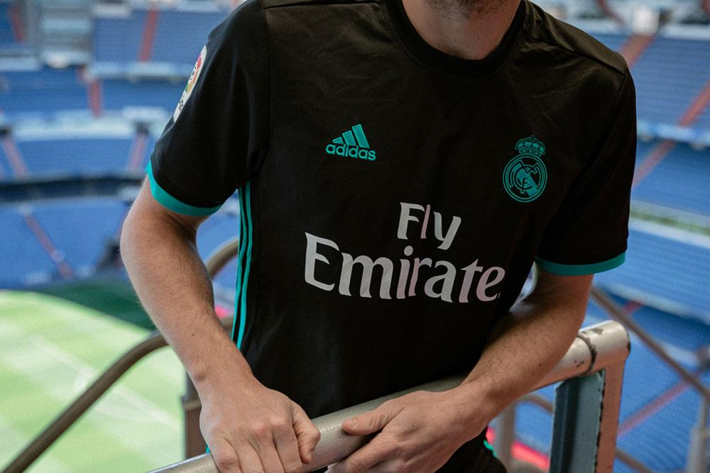 81f1b30941e adidas reveals 2017 18 Real Madrid home and away jerseys