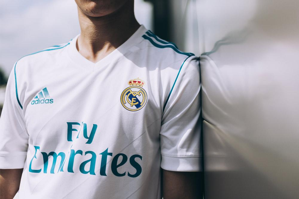 023edd13d adidas reveals 2017 18 Real Madrid home and away jerseys