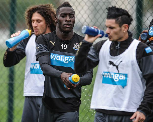 Newcastle United First Team Training
