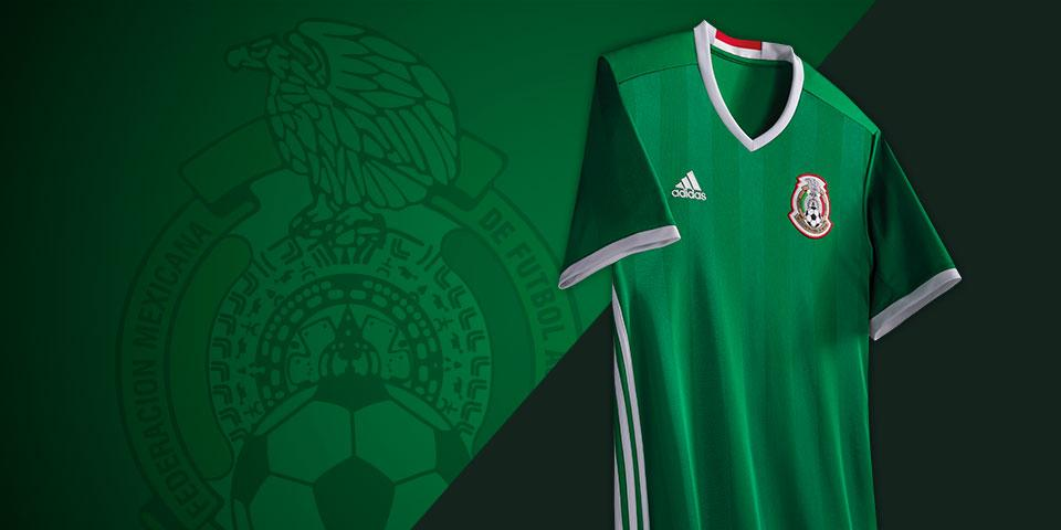 c976b8849 Green with pride, 2016 adidas Mexico home jersey debuts