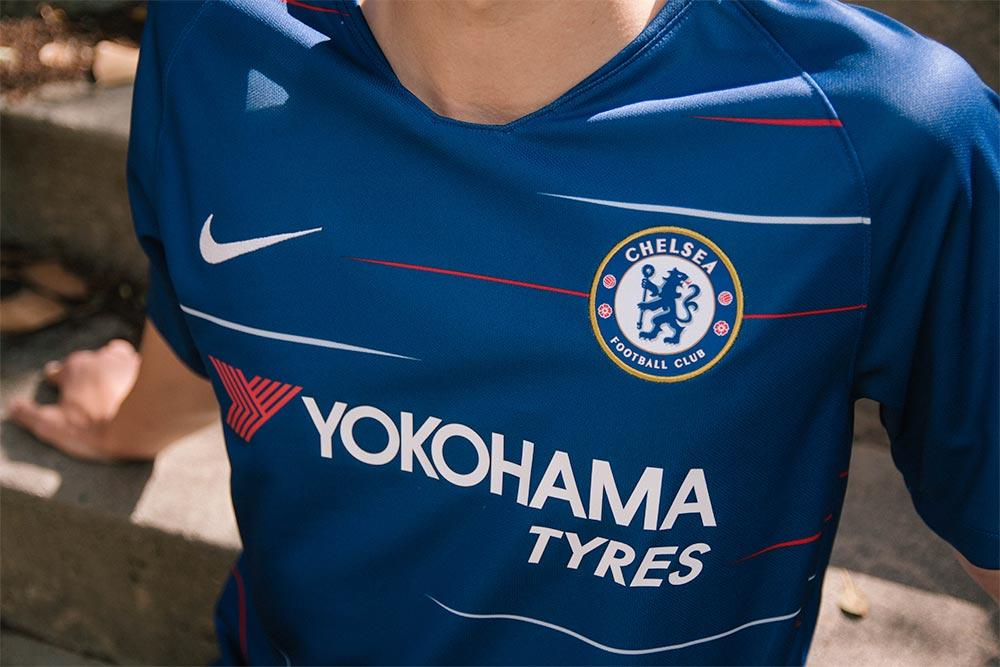 The 2018 19 Chelsea home kit is available now at SOCCER.COM. 6b1350cf7