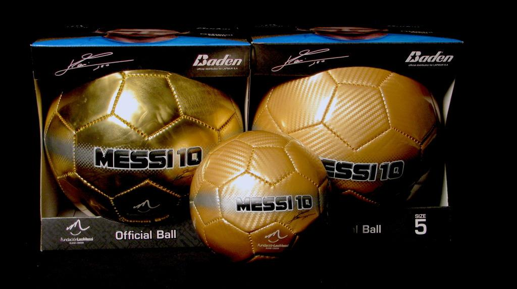 gold a Baden for the balls treatment give Messi cause