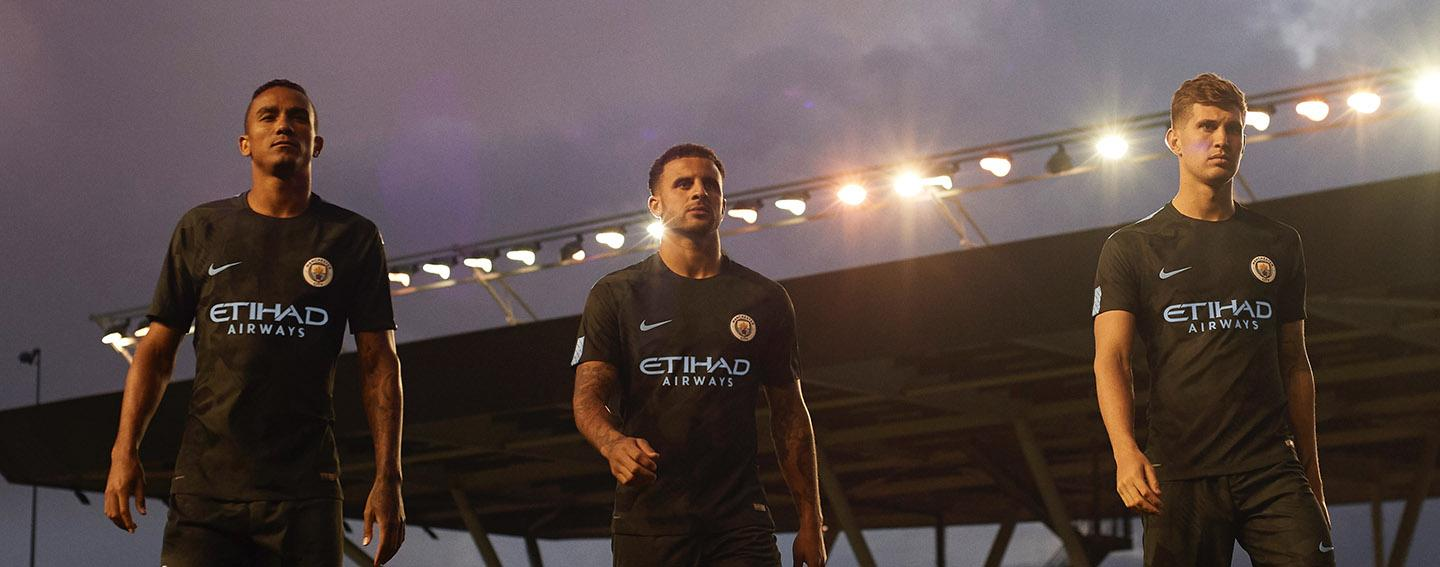 Nike Manchester City 2017-18 third jersey launched