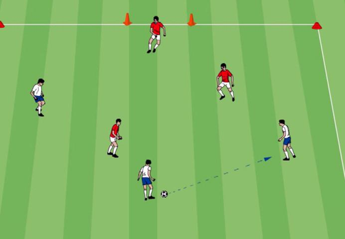 NSCAA Drill of the Month: Transition game