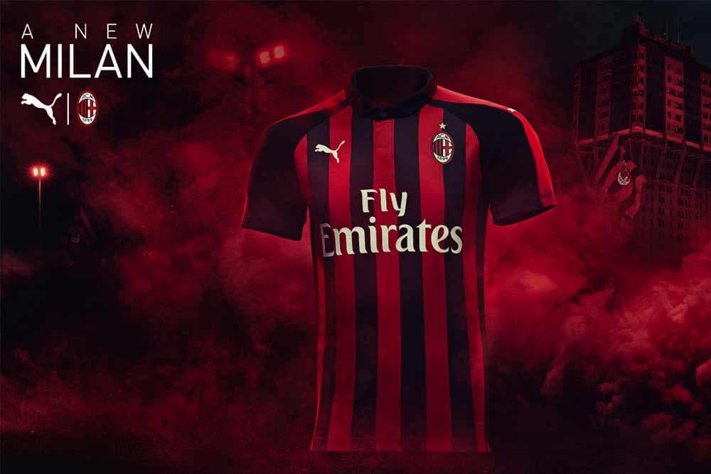 Puma Drops Ac Milan Home Jersey