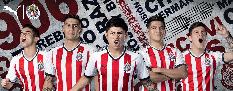 buy online 1169e ad27d PUMA launch new Chivas 2017-18 jerseys