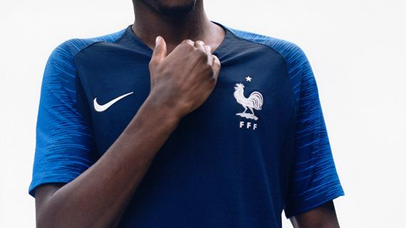2a75451b1 2018 Nike France home and away World Cup kits revealed