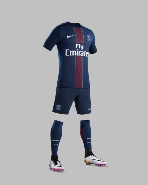 half off 48dd8 d091e Paris Saint-German present 2016/2017 Nike Home Jersey