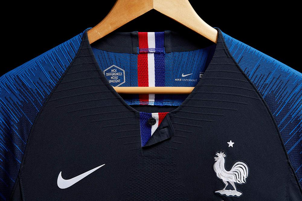 new concept 91a00 35b96 2018 Nike France home and away World Cup kits revealed