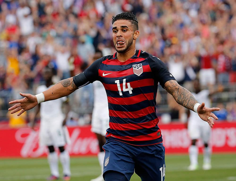 Dom Dwyer scores his first USMNT goal