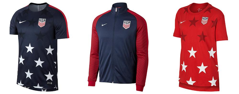 a3082cc46 2017 Nike USA Gold Cup Jersey