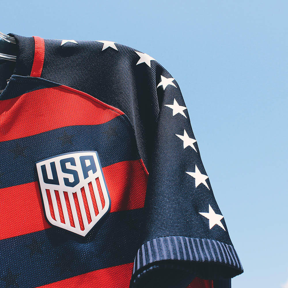 2017 Nike USA Gold Cup Jersey Details