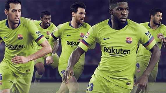 Electric Look for Barcelona 2018-19 Away Jersey a4c48159965