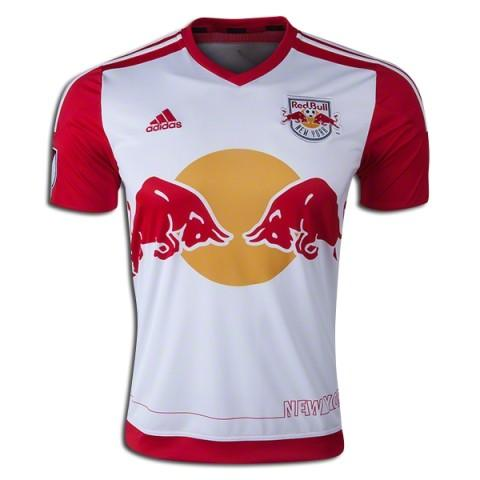 The 2015 adidas New York Red Bulls home jersey 299bcaae6991c
