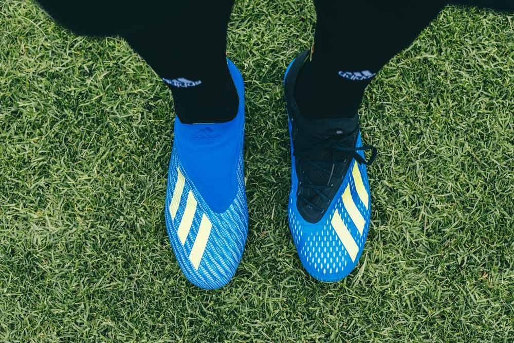 adidas X 18+ Purespeed vs. X 18.1