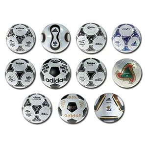 World Cup Historical Ball Set