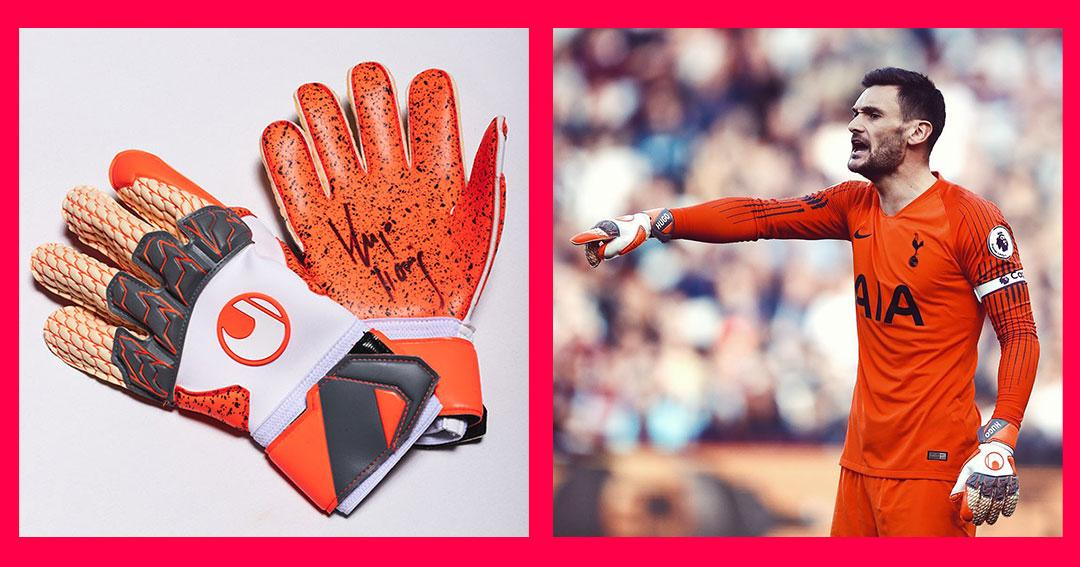 Win a pair of goalkeeper gloves signed by Hugo Lloris