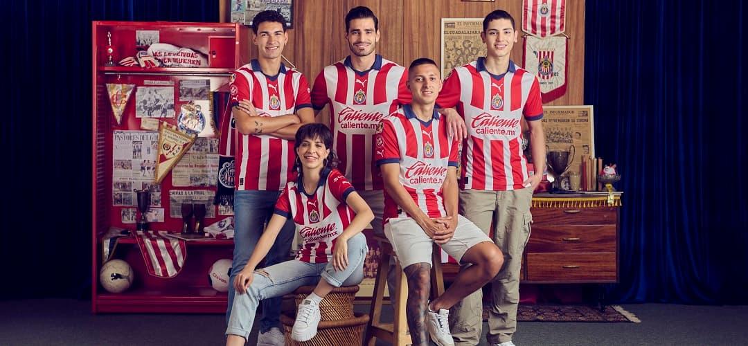 reputable site 68864 8f915 Chivas Jersey - Home, Away, Third, Goalkeeper | SOCCER.COM
