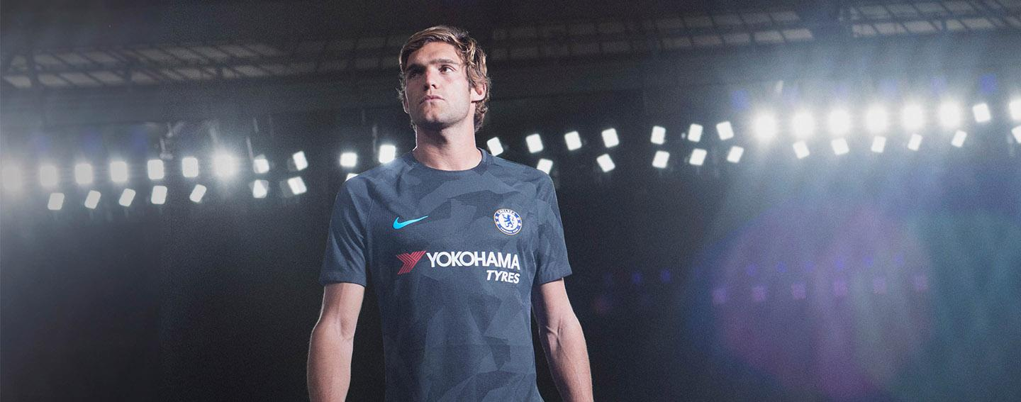 Nike and Chelsea launch 2017-18 third jersey