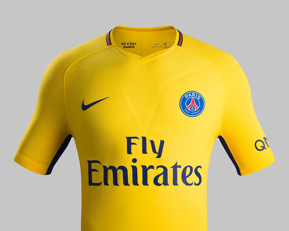 310365c97 2017-18 Nike Paris Saint Germain Away Jersey