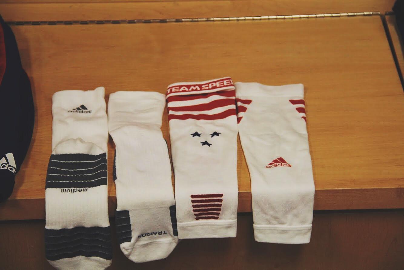 MLS All-Stars debut adidas Team Speed Sock System cb464e5fa593