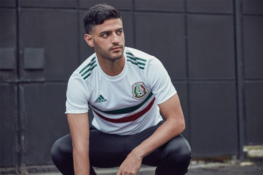 2018 adidas Mexico away World Cup jerseys