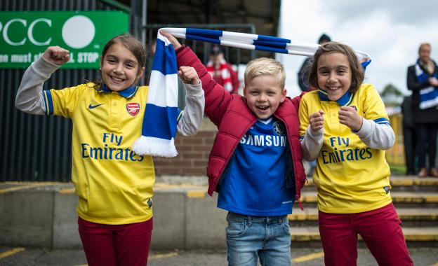 FA Women's Cup Semi Final - Chelsea Ladies v Arsenal Ladies