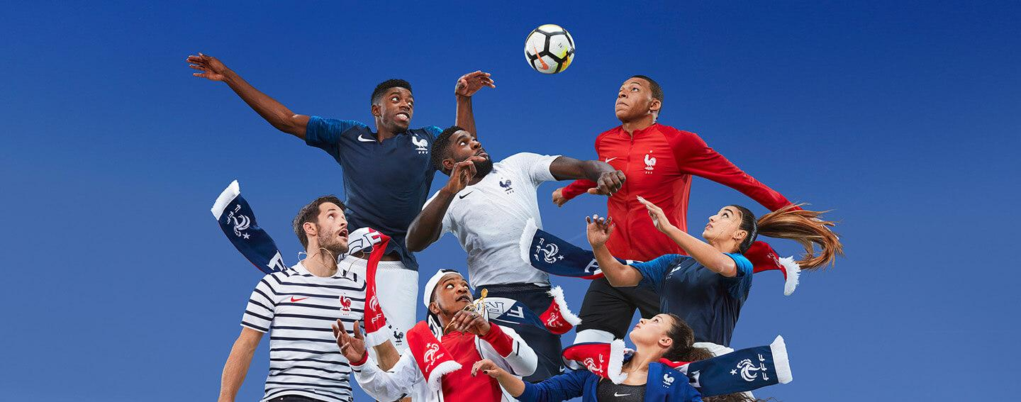 2018 Nike France home and away World Cup kits revealed