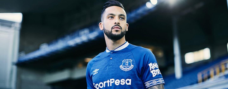 2018/19 Umbro Everton home kit debuts