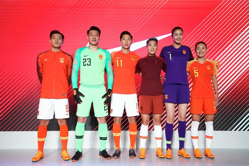 e83338e16ee 2018-19 Nike China home and away kits release